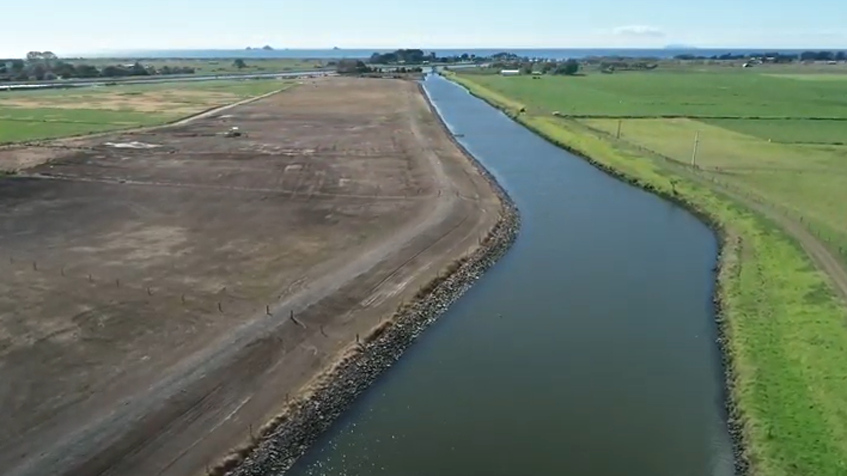 Rangitāiki floodway project stage 4