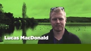 Biosecurity Officer Lucas Macdonald