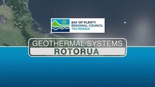 Rotorua geothermal system animation